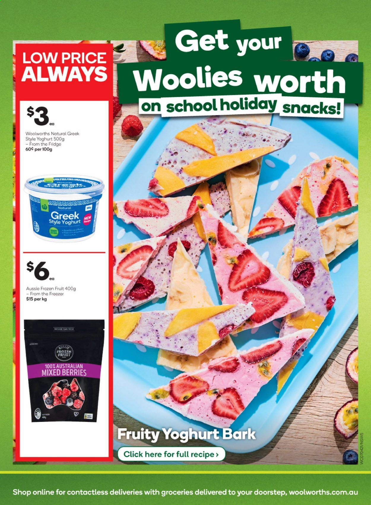 Woolworths catalogue  - 7.4.2021 - 13.4.2021. Page 5.