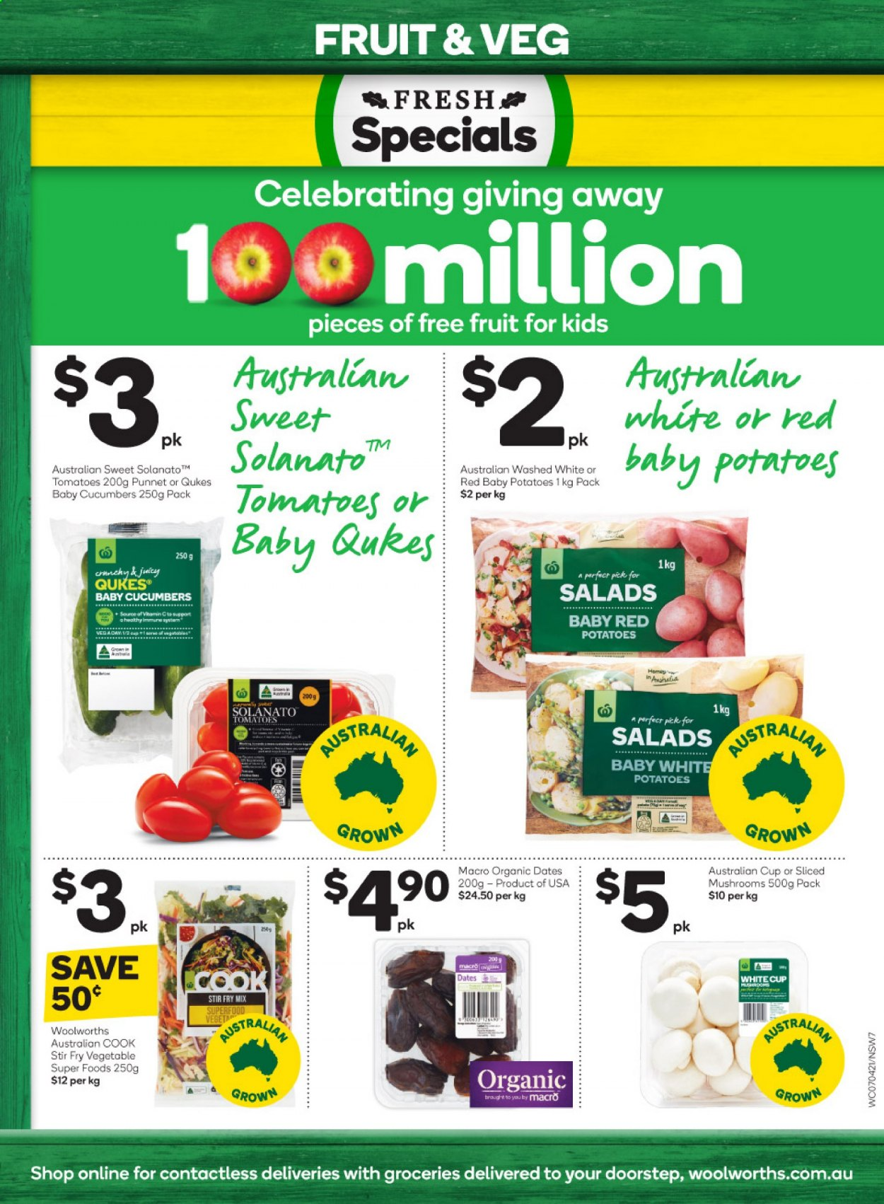 Woolworths catalogue  - 7.4.2021 - 13.4.2021. Page 7.