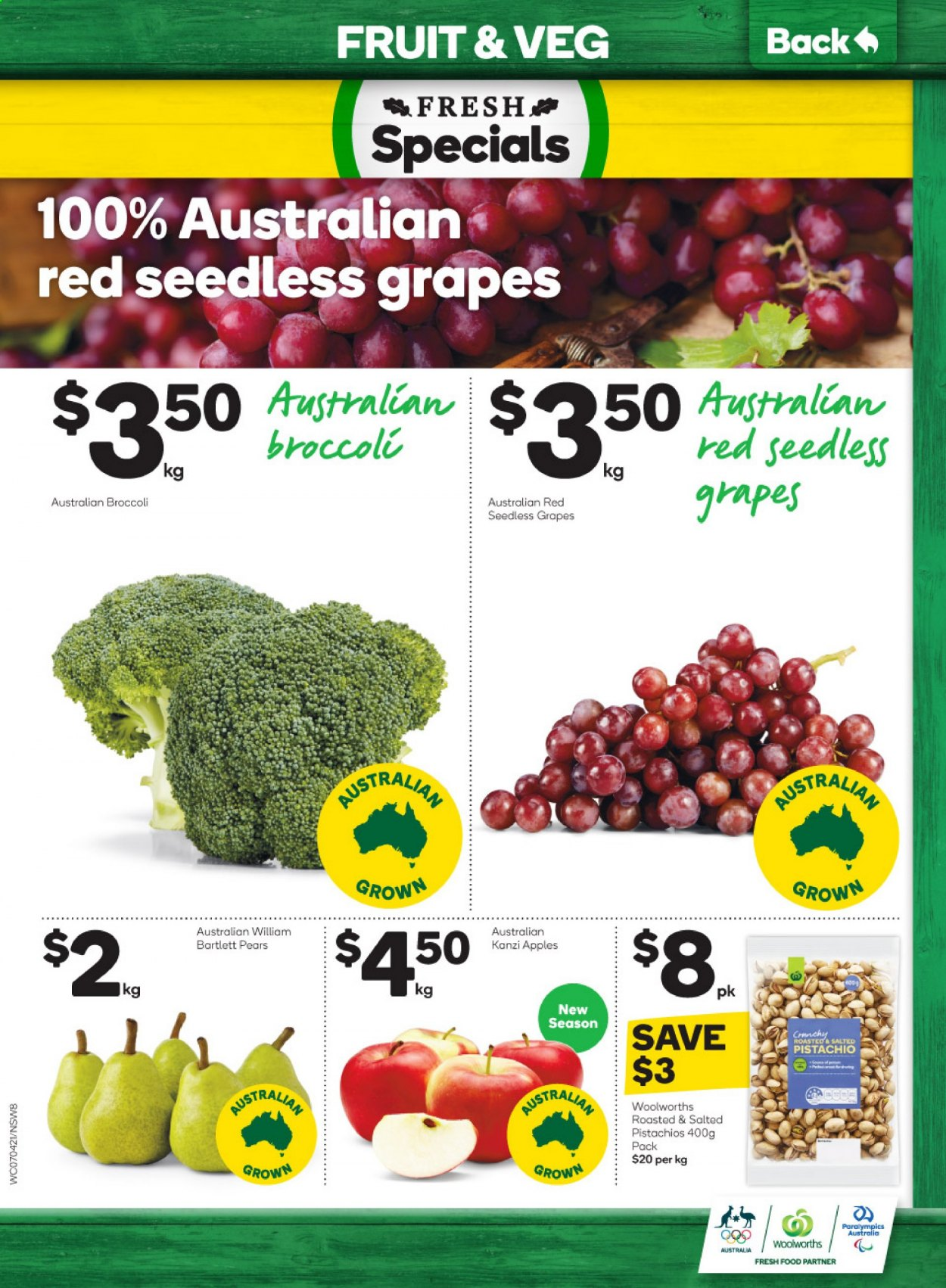 Woolworths catalogue  - 7.4.2021 - 13.4.2021. Page 8.