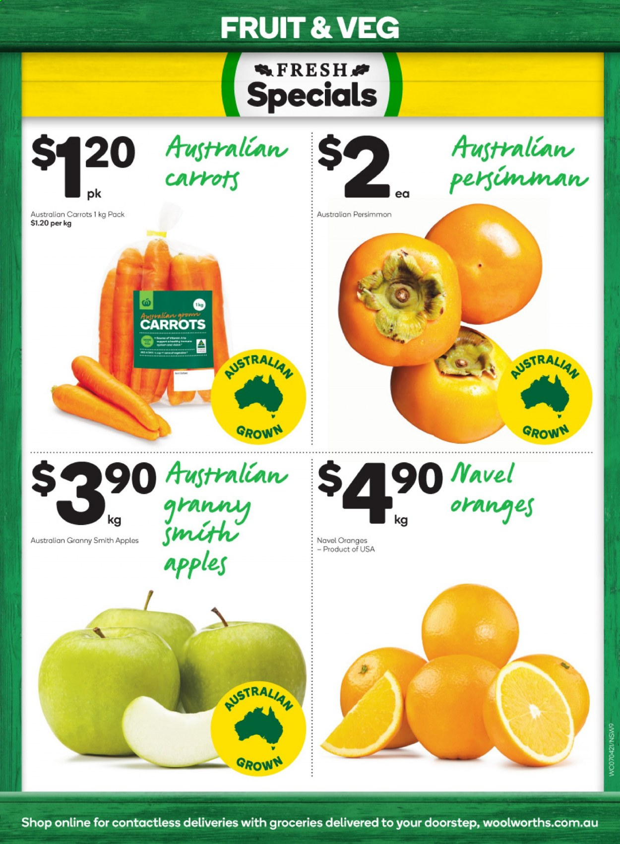 Woolworths catalogue  - 7.4.2021 - 13.4.2021. Page 9.