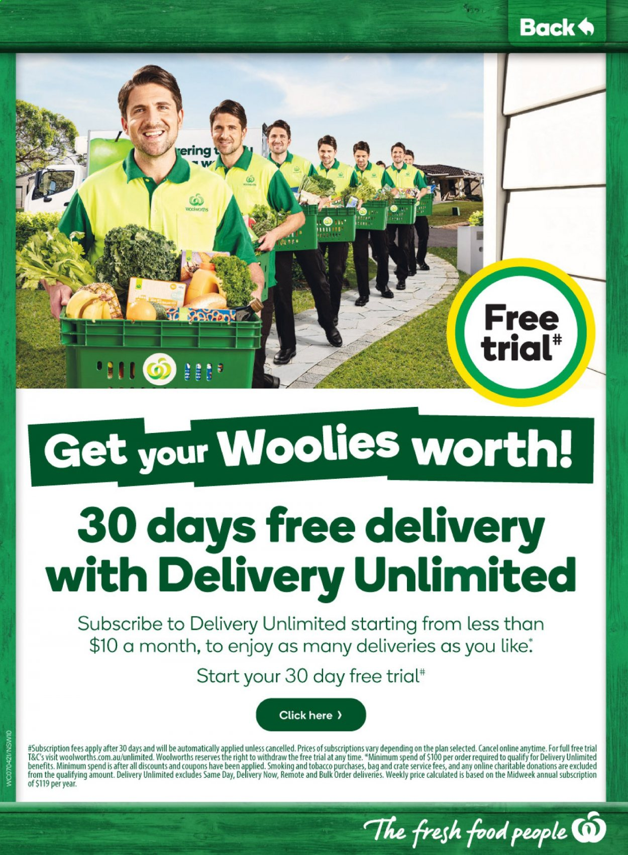 Woolworths catalogue  - 7.4.2021 - 13.4.2021. Page 10.