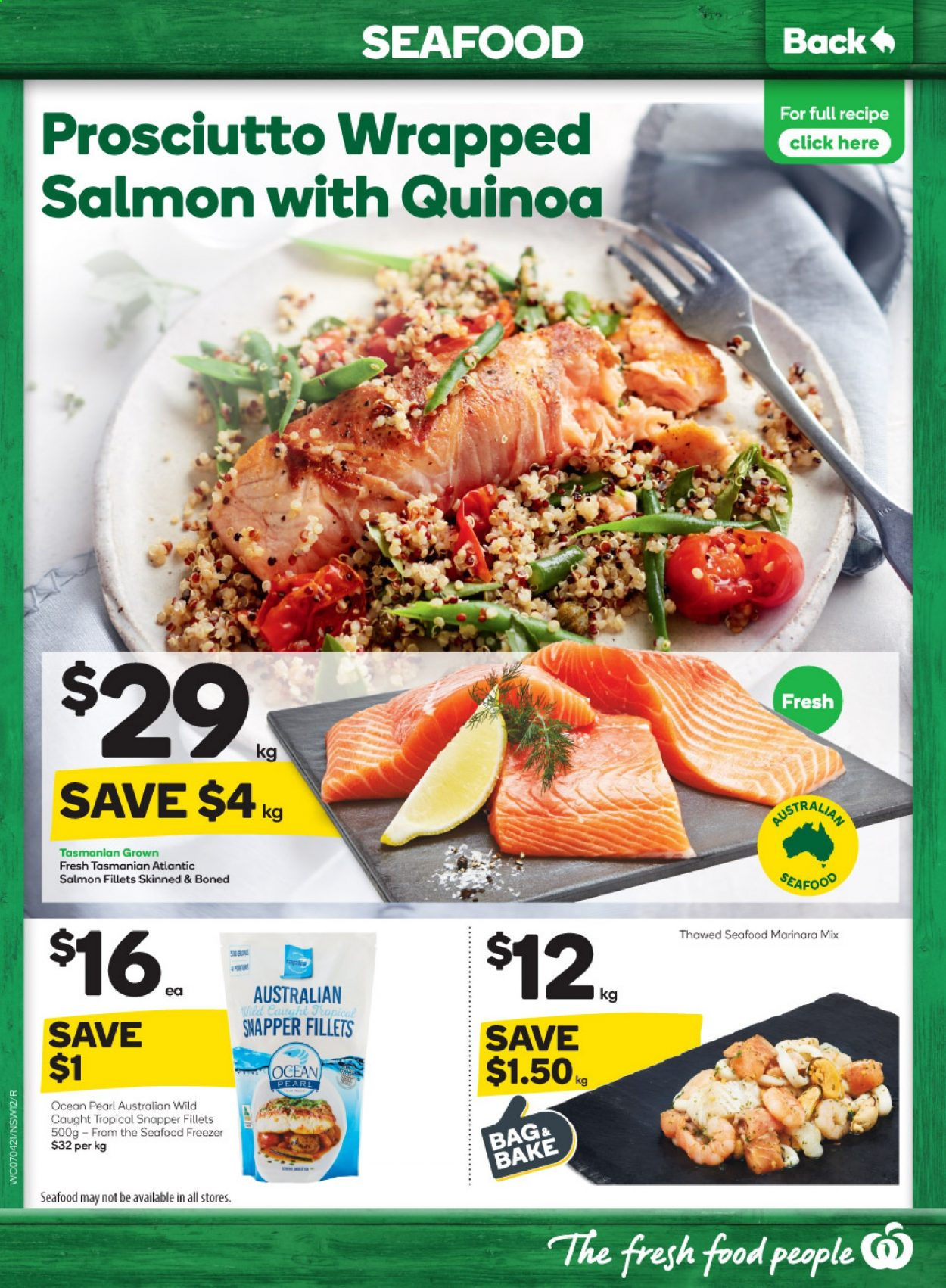 Woolworths catalogue  - 7.4.2021 - 13.4.2021. Page 12.