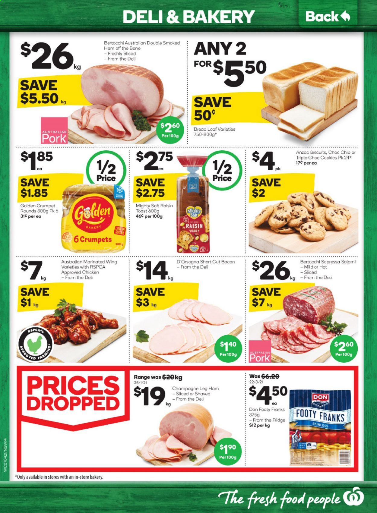 Woolworths catalogue  - 7.4.2021 - 13.4.2021. Page 14.