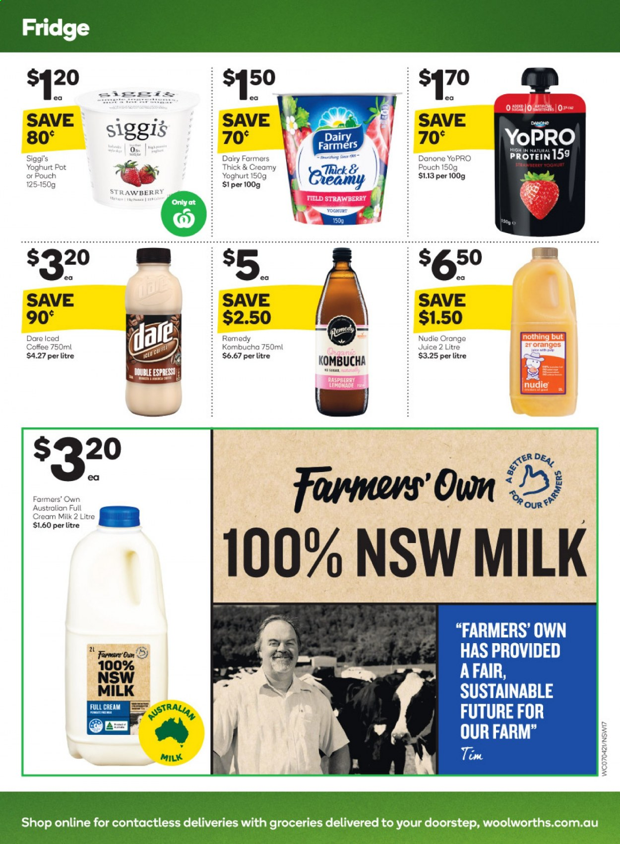 Woolworths catalogue  - 7.4.2021 - 13.4.2021. Page 17.