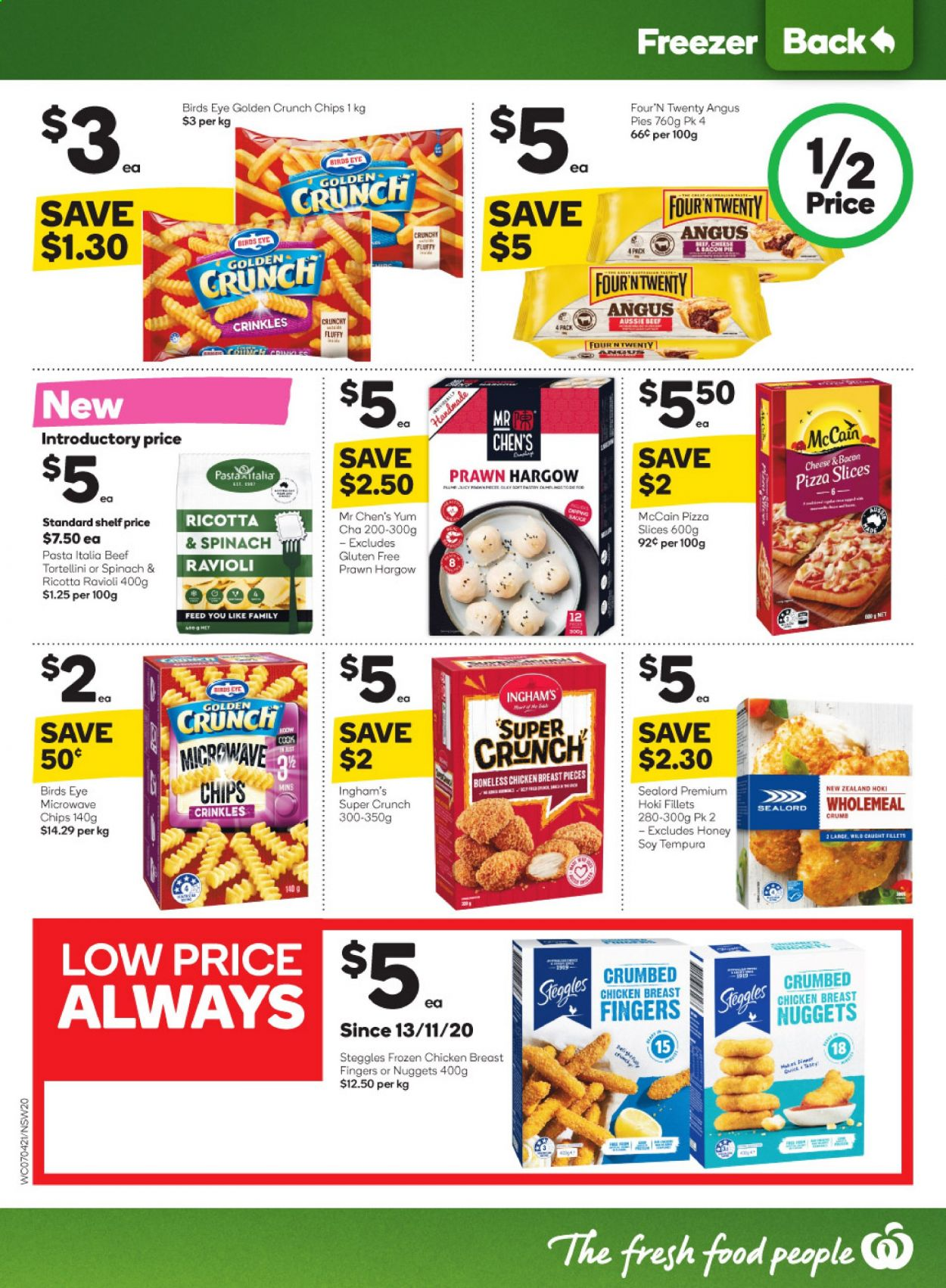 Woolworths catalogue  - 7.4.2021 - 13.4.2021. Page 20.