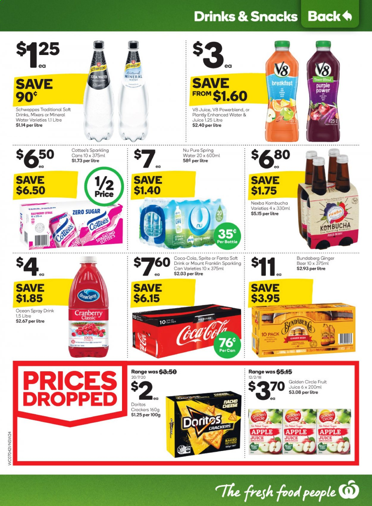 Woolworths catalogue  - 7.4.2021 - 13.4.2021. Page 24.
