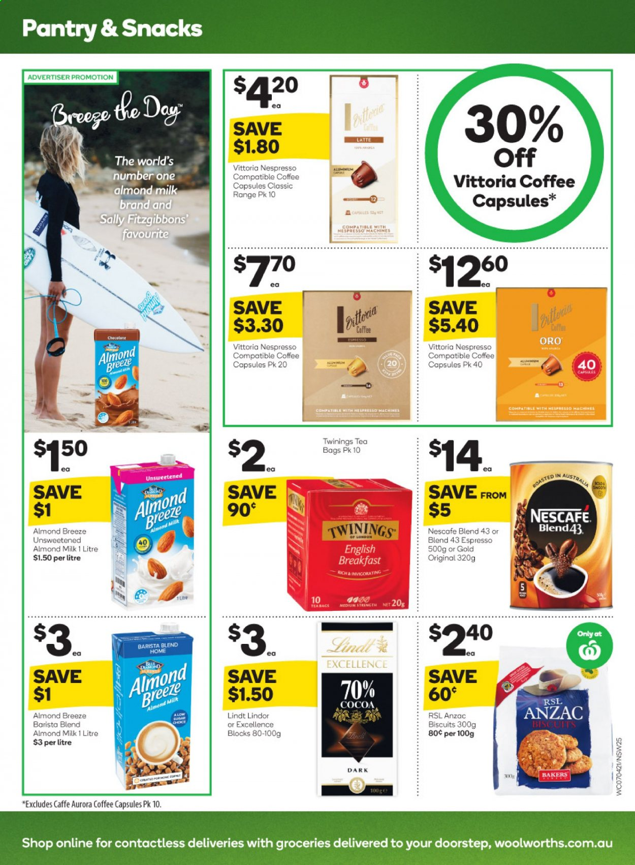 Woolworths catalogue  - 7.4.2021 - 13.4.2021. Page 25.