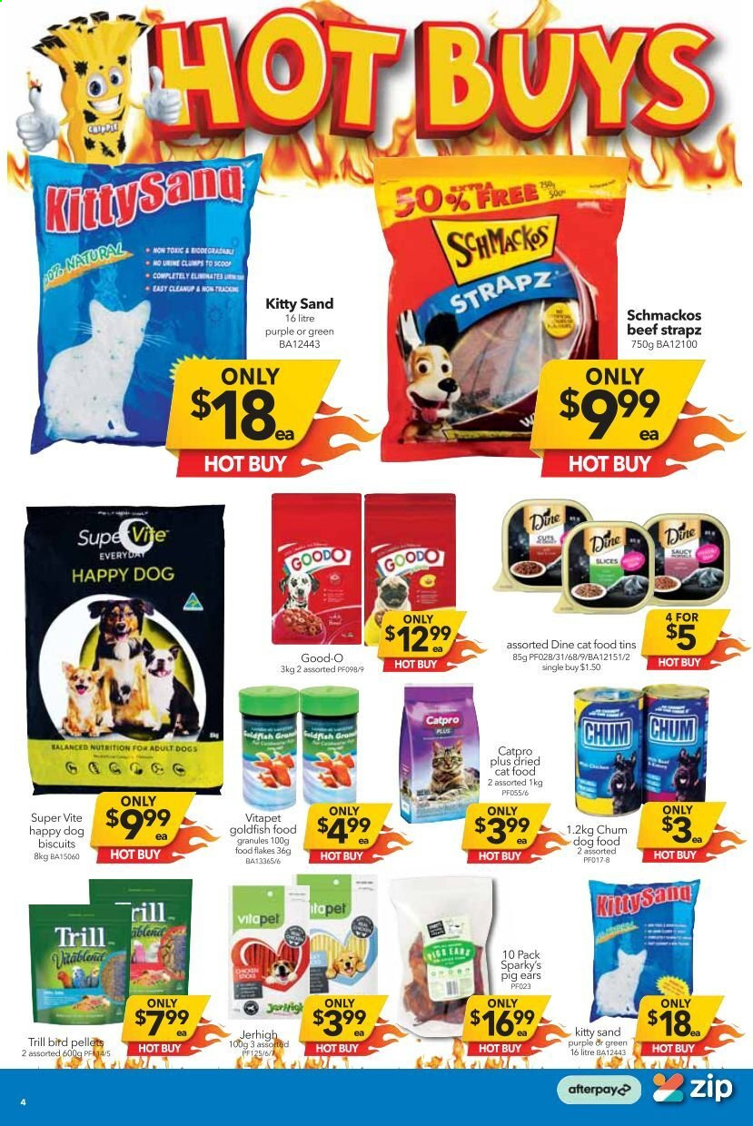 Cheap as Chips catalogue  - 7.4.2021 - 13.4.2021. Page 4.