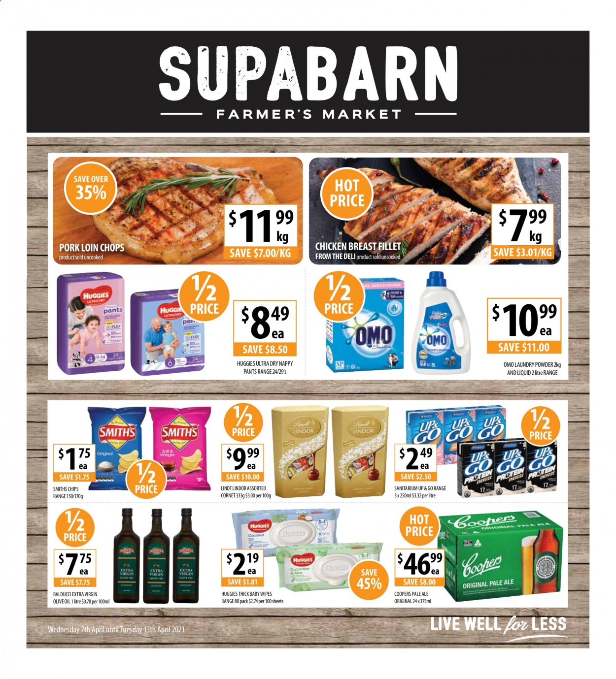 Supabarn catalogue  - 7.4.2021 - 13.4.2021. Page 1.