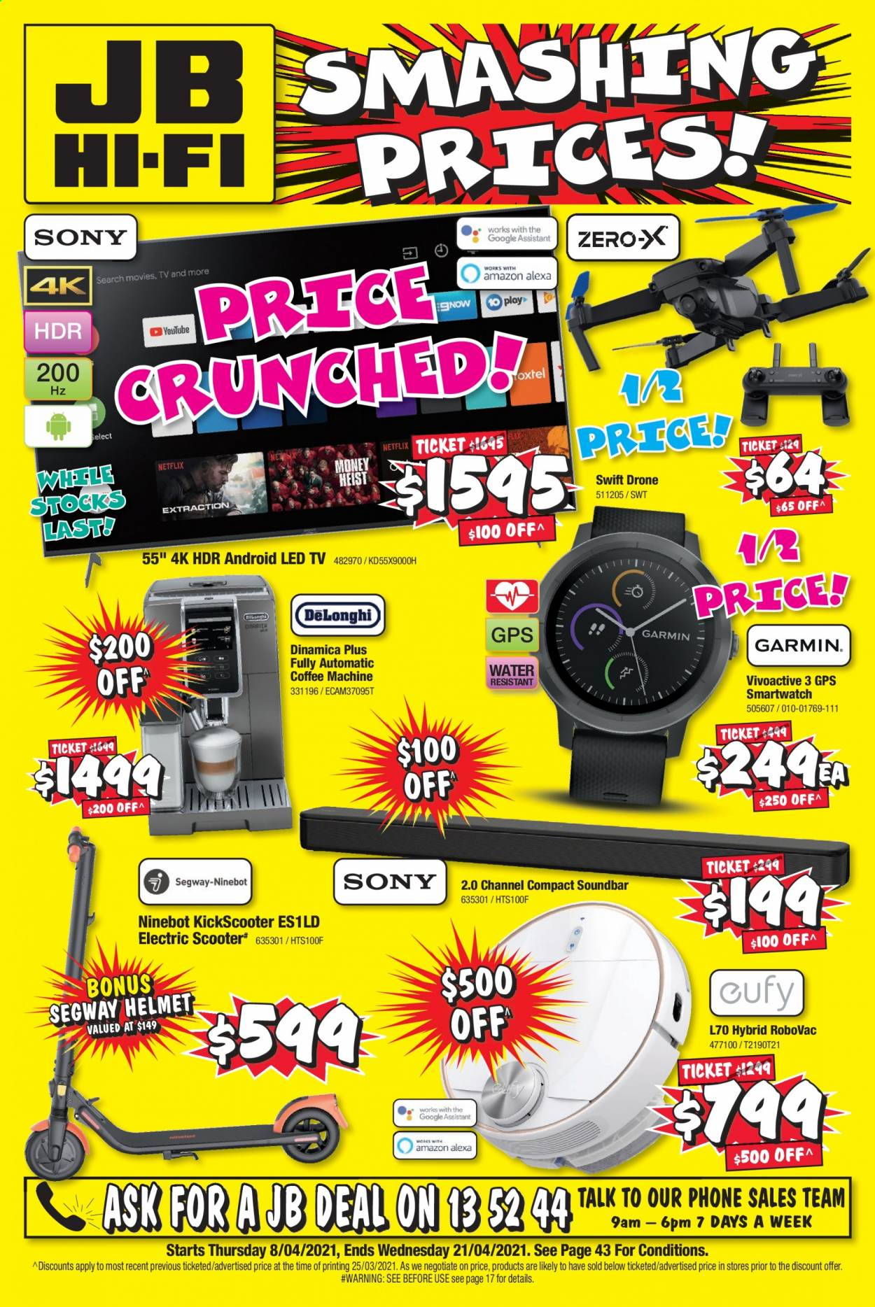JB Hi-Fi catalogue  - 8.4.2021 - 21.4.2021. Page 1.