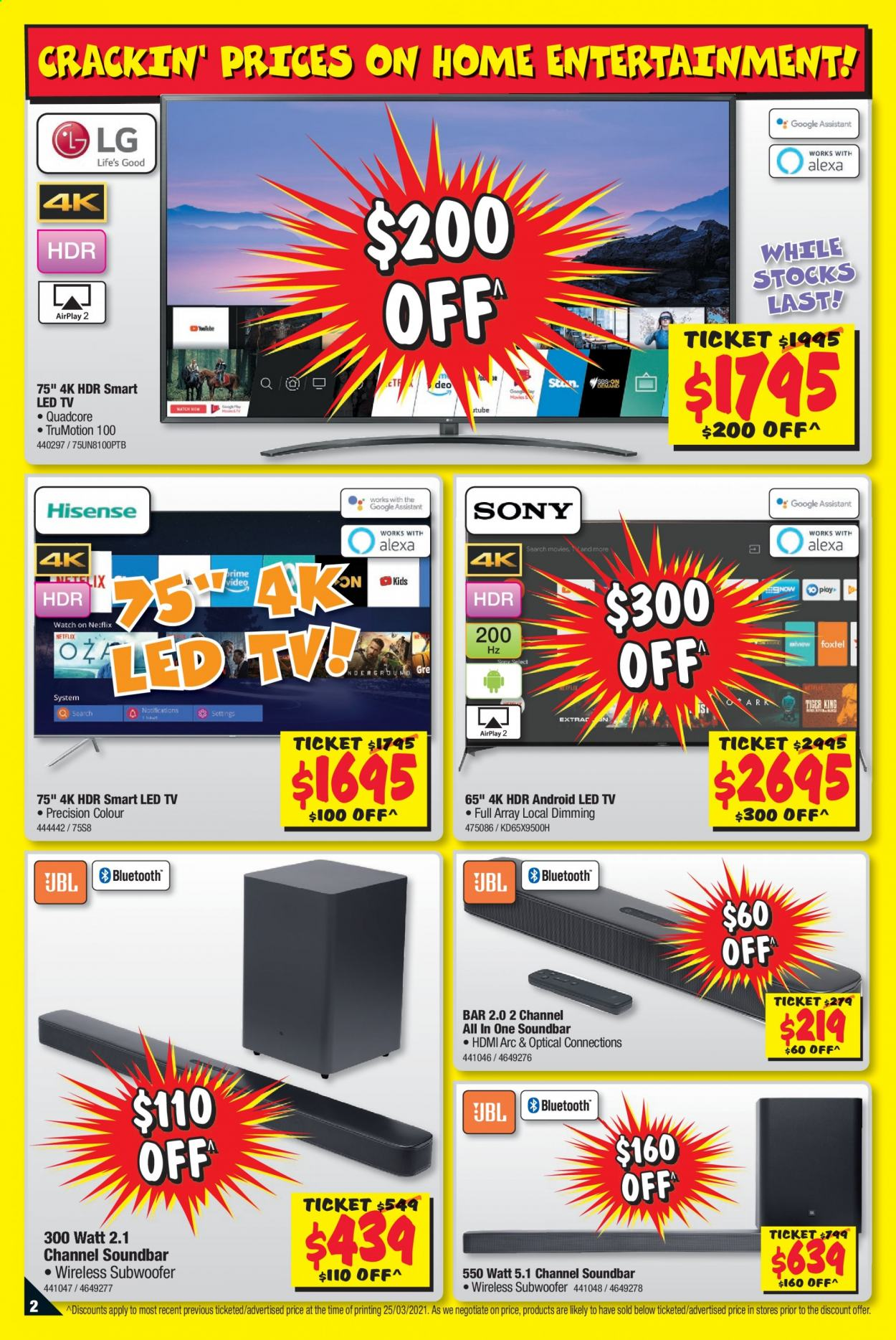 JB Hi-Fi catalogue  - 8.4.2021 - 21.4.2021. Page 2.