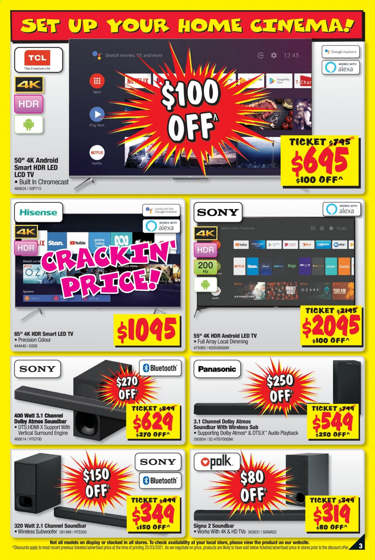 JB Hi-Fi catalogue  - 8.4.2021 - 21.4.2021. Page 3.