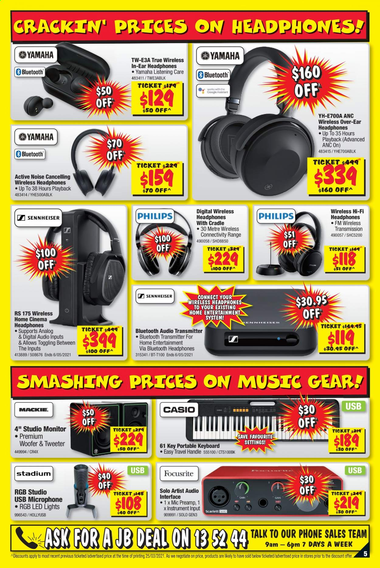 JB Hi-Fi catalogue  - 8.4.2021 - 21.4.2021. Page 5.