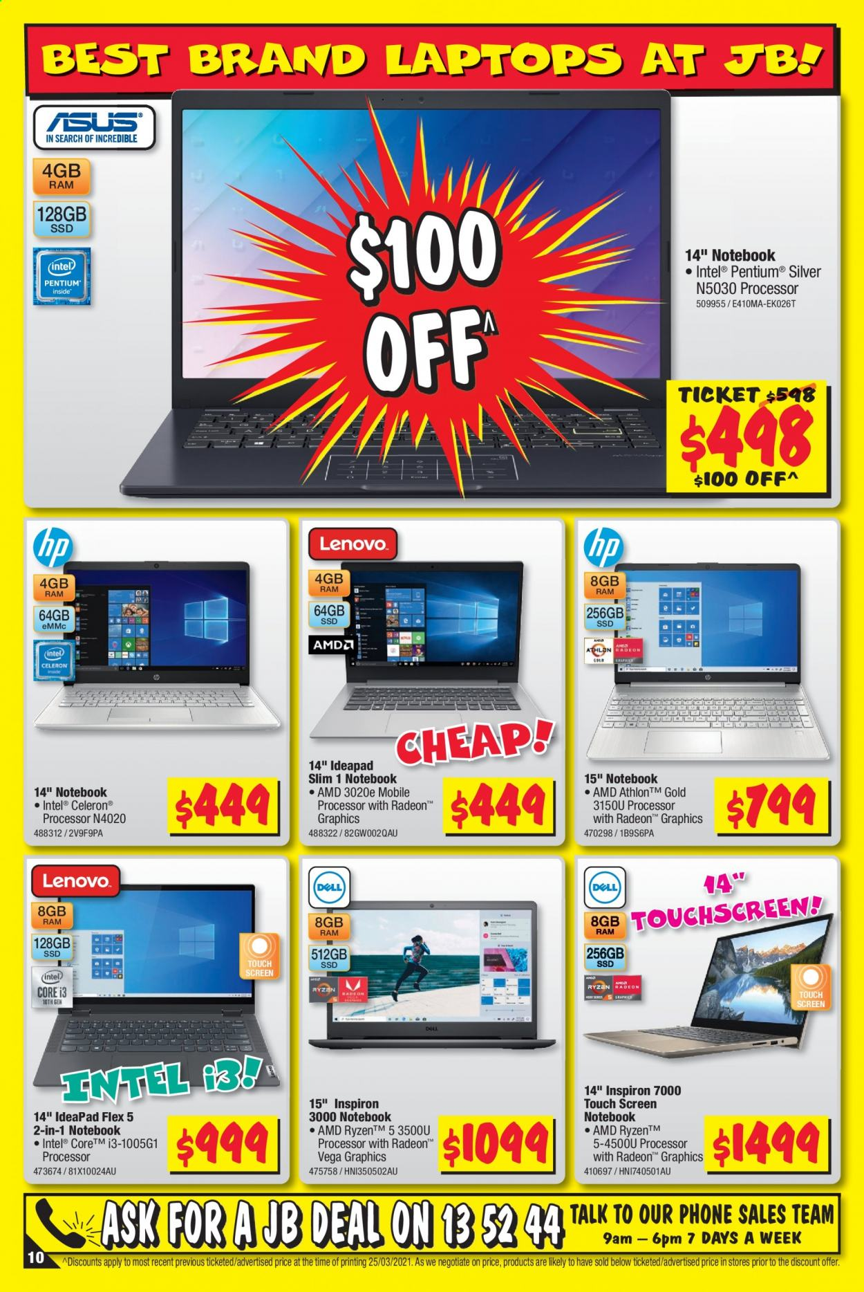 JB Hi-Fi catalogue  - 8.4.2021 - 21.4.2021. Page 10.