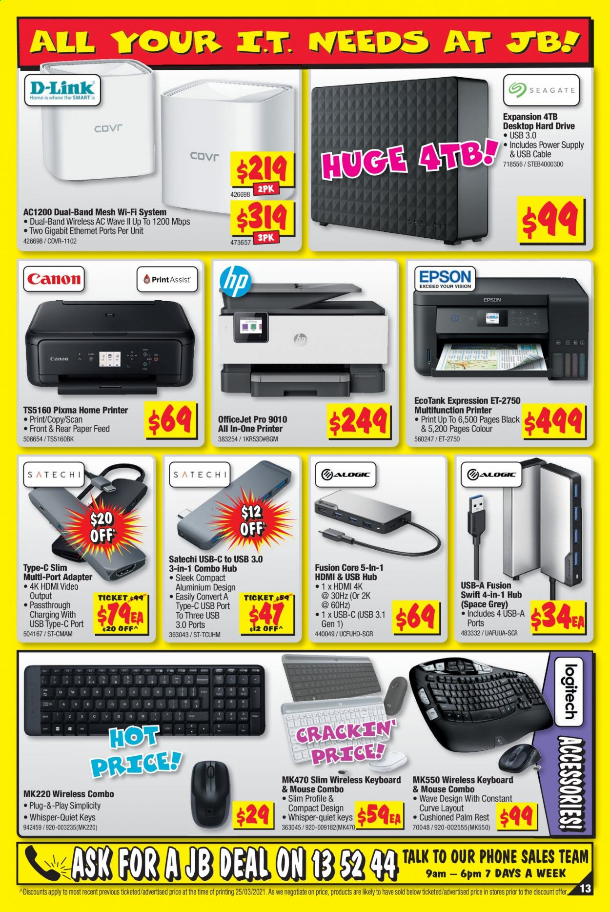 JB Hi-Fi catalogue  - 8.4.2021 - 21.4.2021. Page 13.