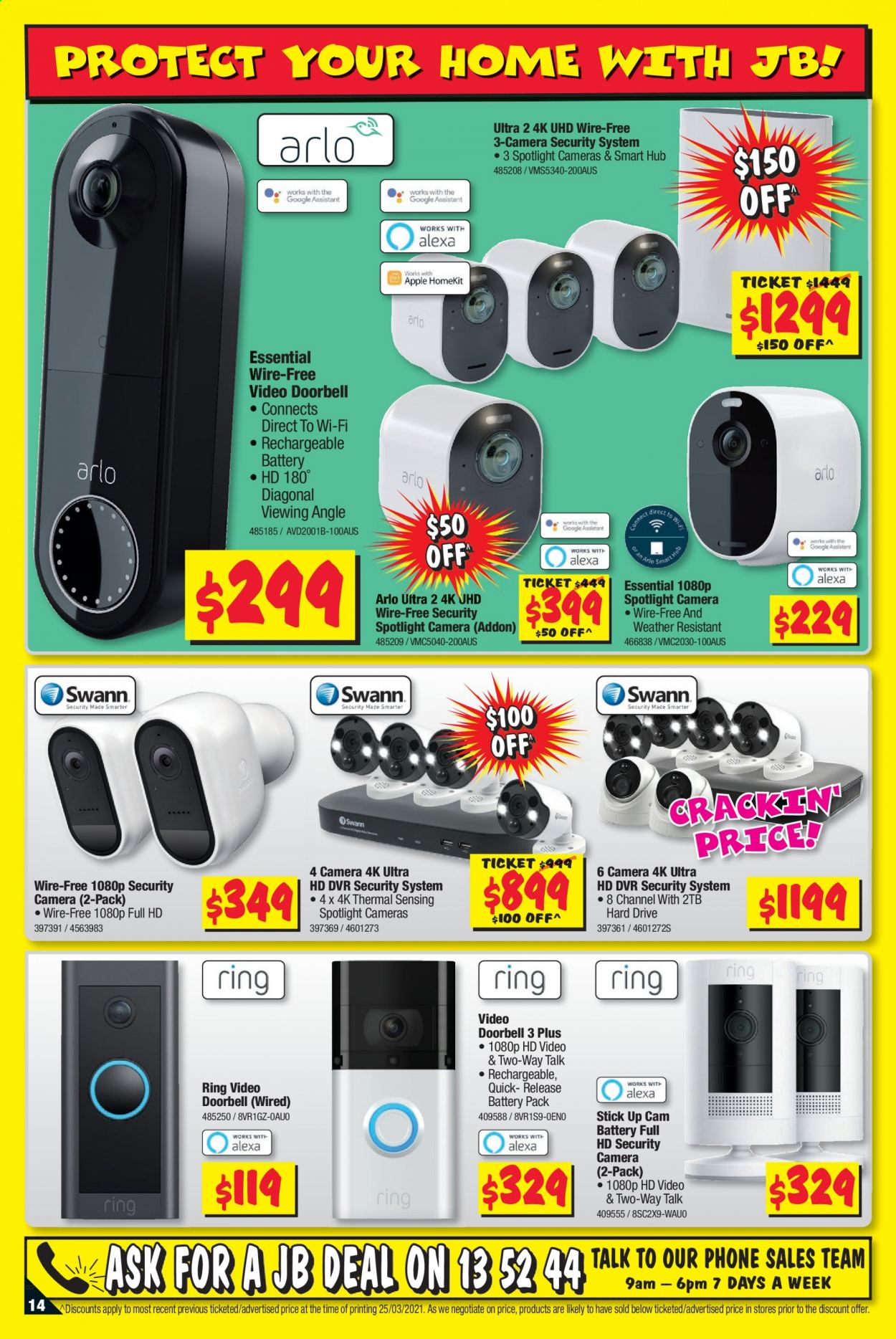 JB Hi-Fi catalogue  - 8.4.2021 - 21.4.2021. Page 14.