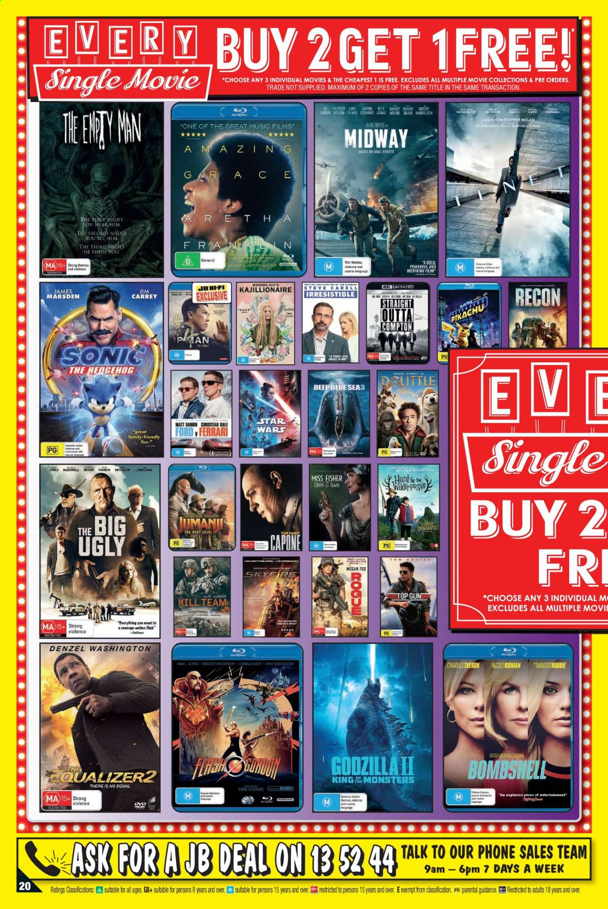 JB Hi-Fi catalogue  - 8.4.2021 - 21.4.2021. Page 20.