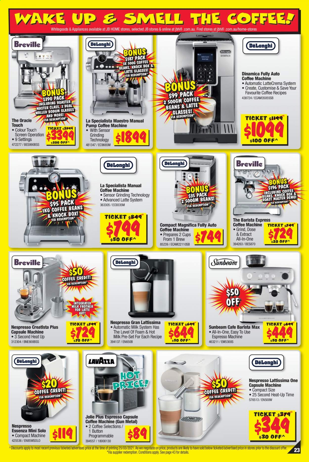 JB Hi-Fi catalogue  - 8.4.2021 - 21.4.2021. Page 23.