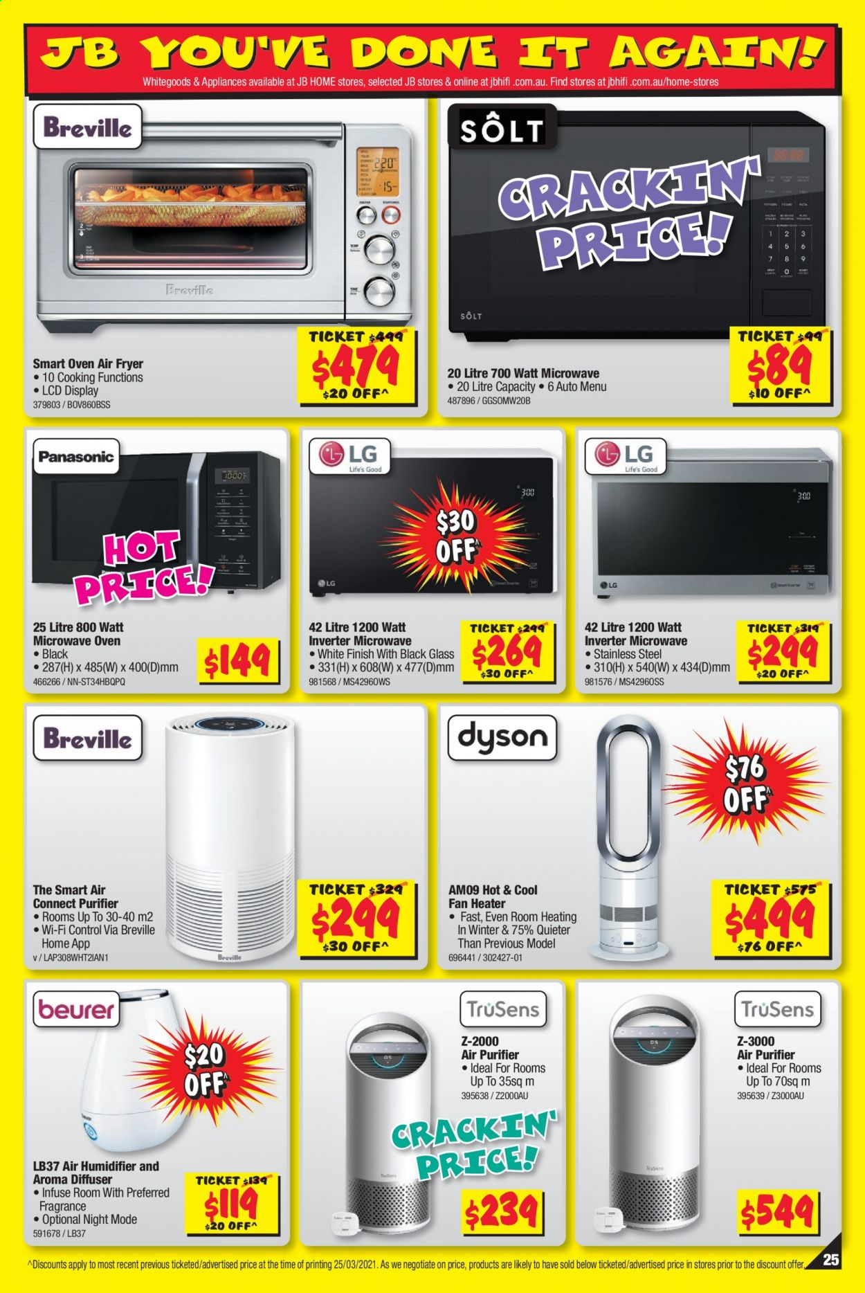 JB Hi-Fi catalogue  - 8.4.2021 - 21.4.2021. Page 25.