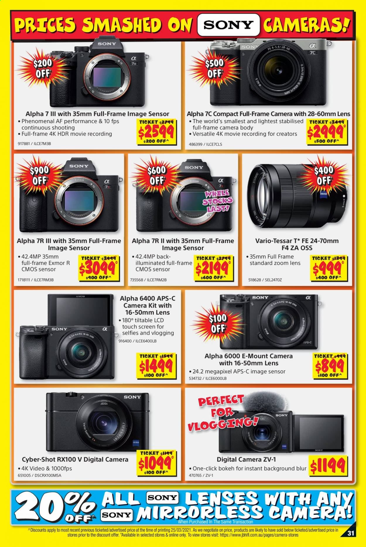 JB Hi-Fi catalogue  - 8.4.2021 - 21.4.2021. Page 31.