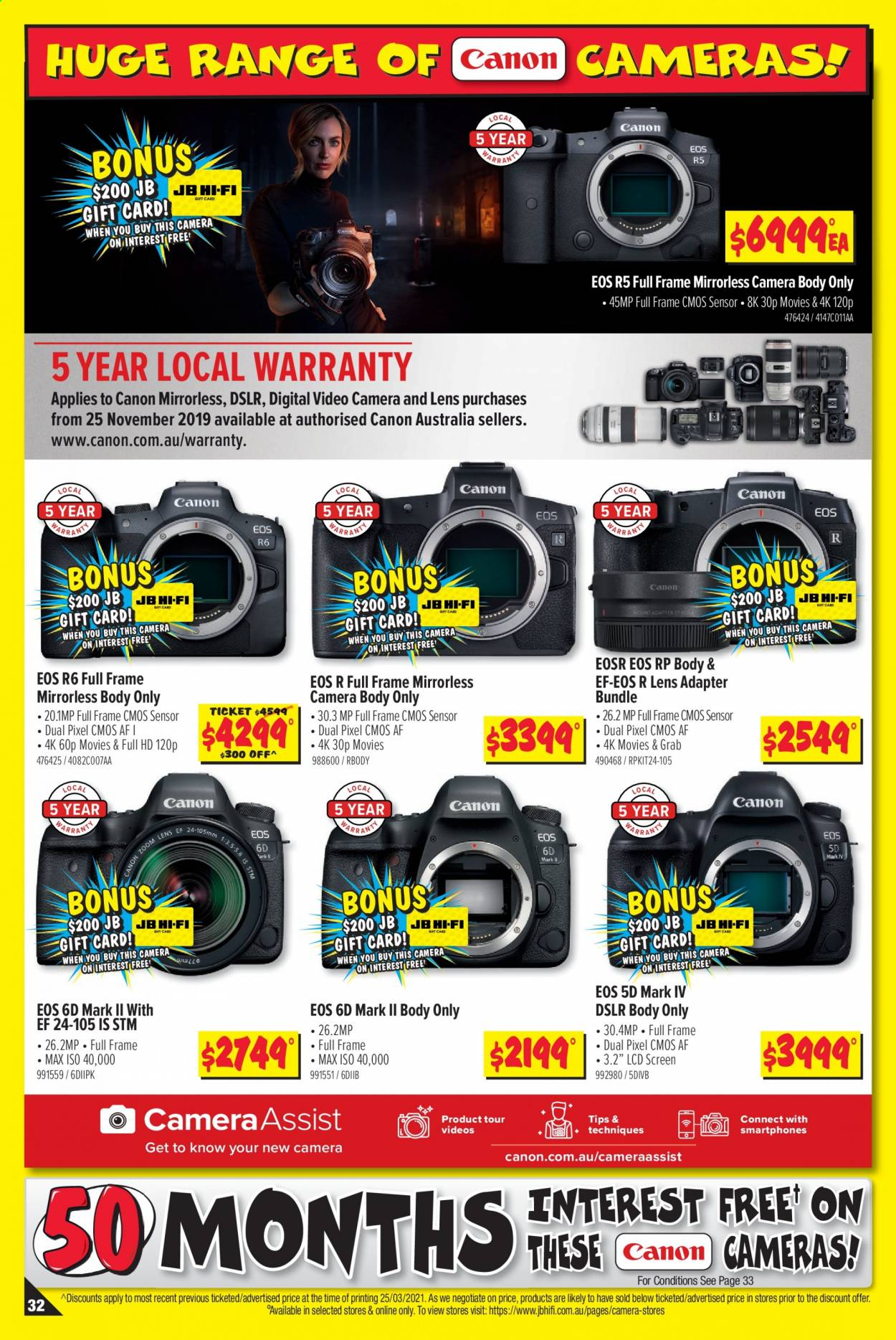 JB Hi-Fi catalogue  - 8.4.2021 - 21.4.2021. Page 32.