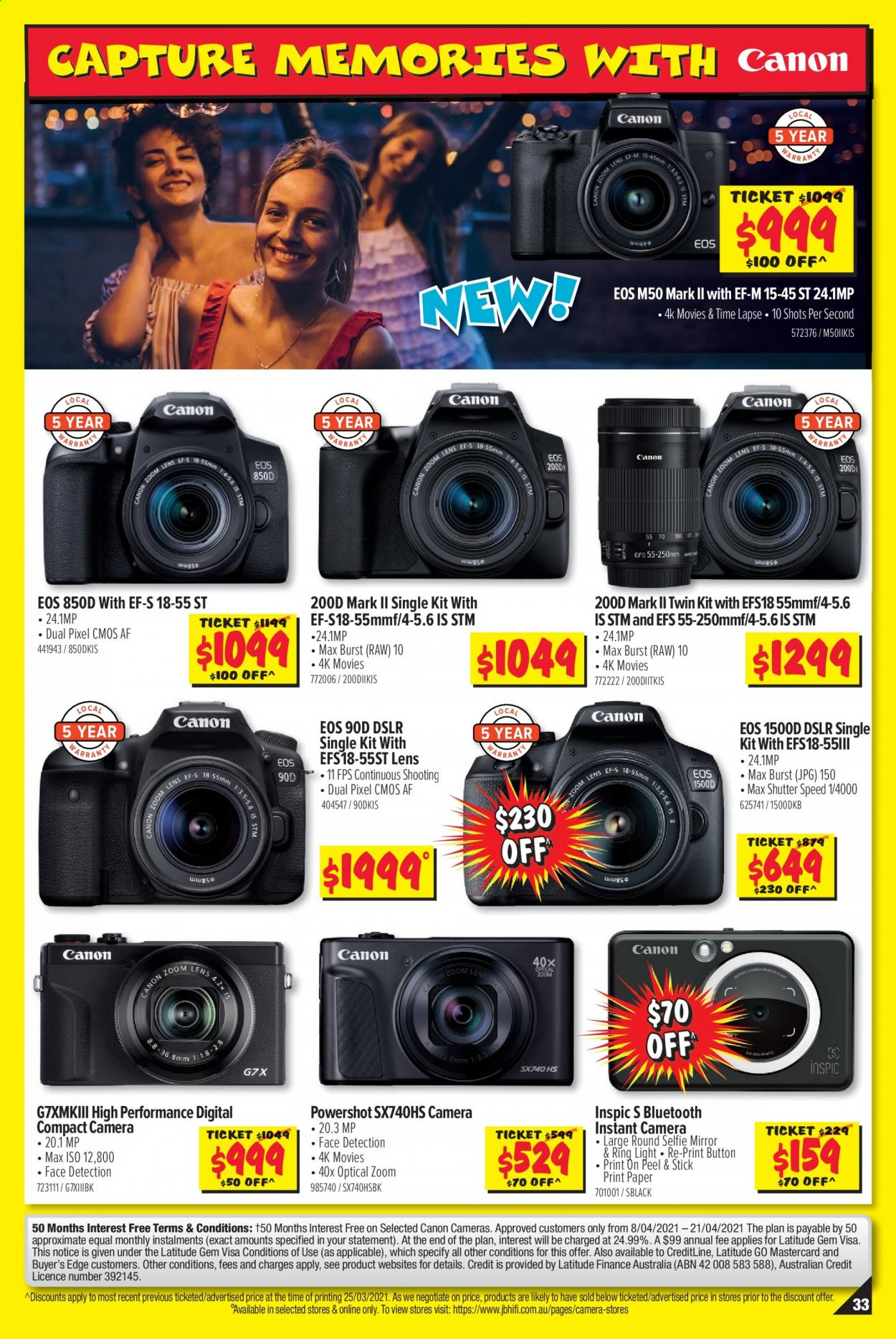 JB Hi-Fi catalogue  - 8.4.2021 - 21.4.2021. Page 33.