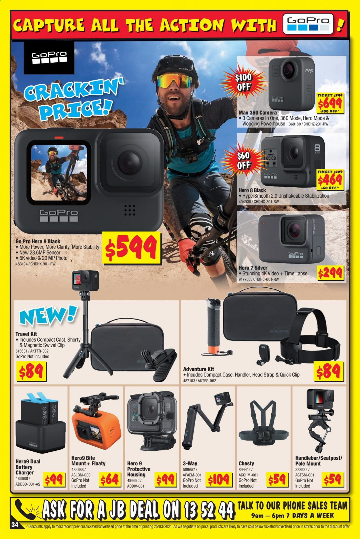JB Hi-Fi catalogue  - 8.4.2021 - 21.4.2021. Page 34.