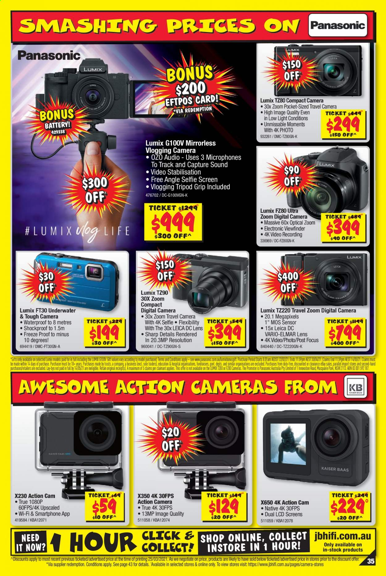 JB Hi-Fi catalogue  - 8.4.2021 - 21.4.2021. Page 35.