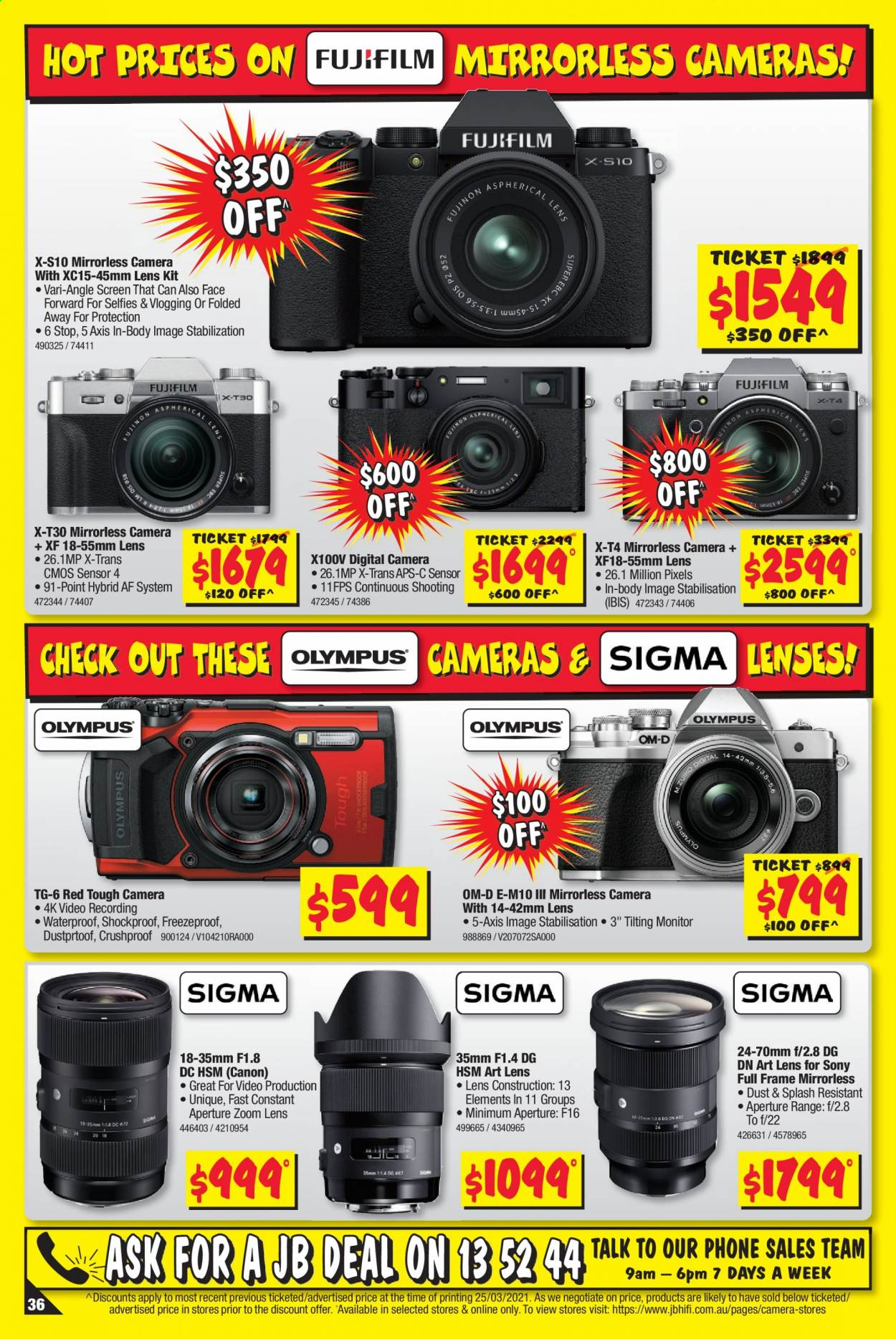 JB Hi-Fi catalogue  - 8.4.2021 - 21.4.2021. Page 36.