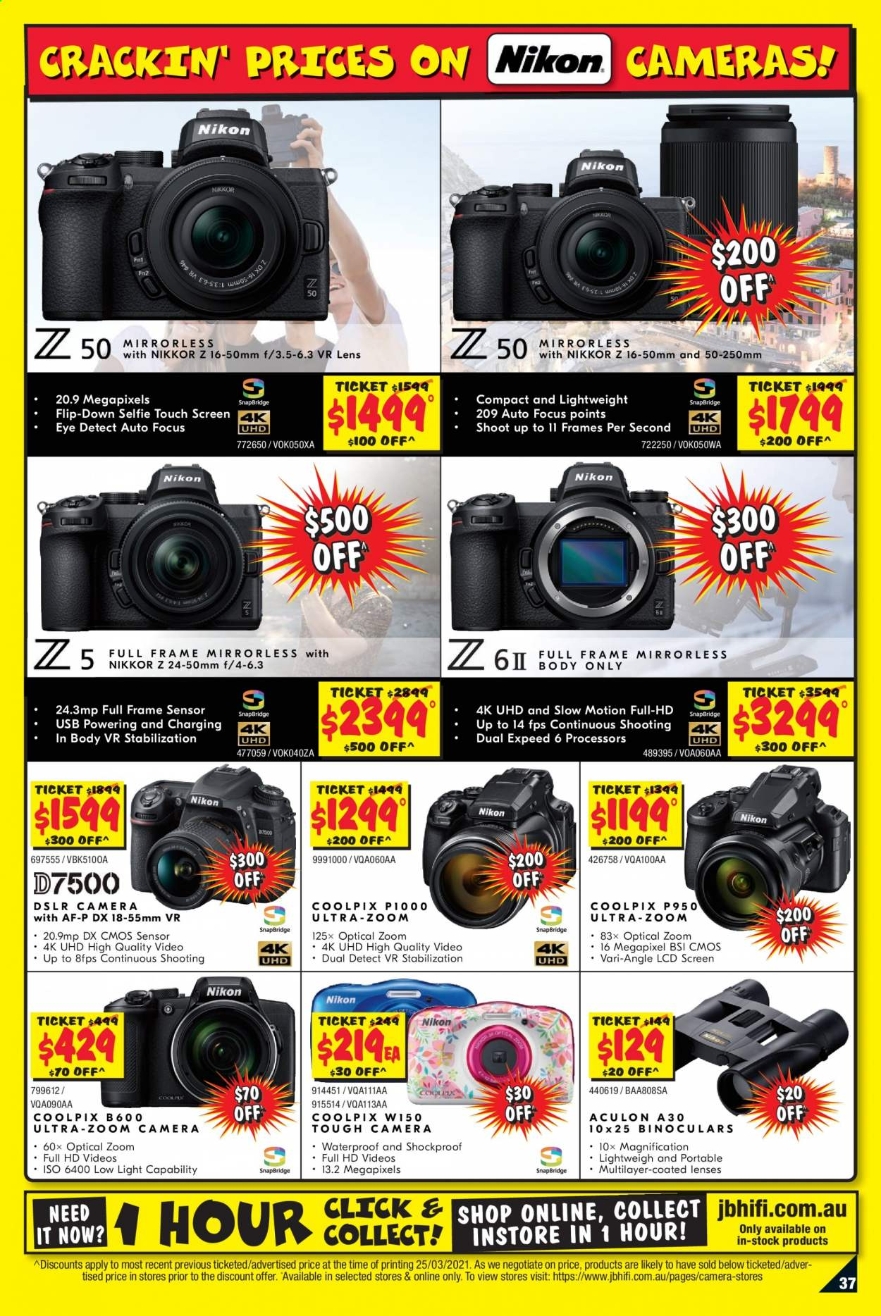 JB Hi-Fi catalogue  - 8.4.2021 - 21.4.2021. Page 37.