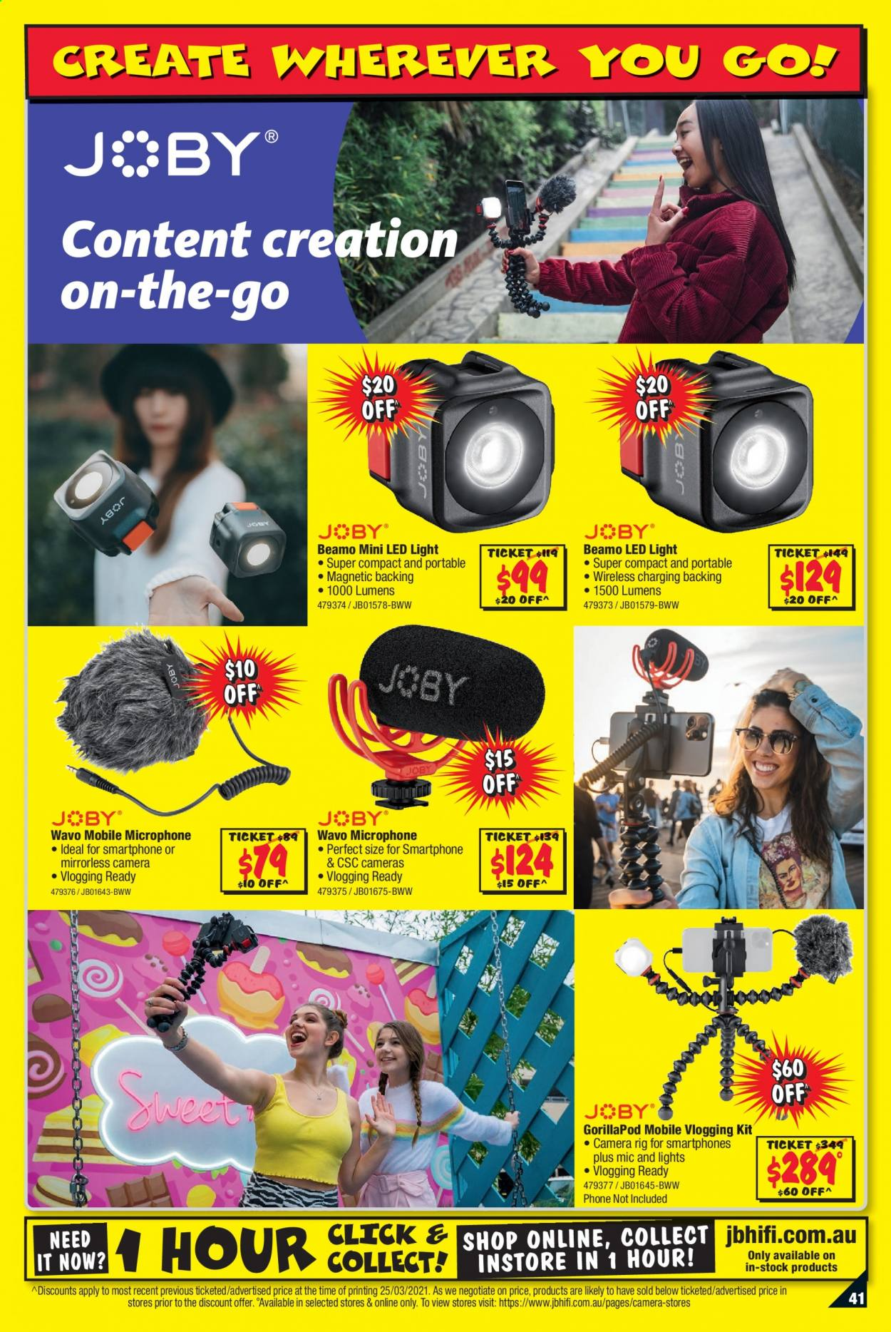 JB Hi-Fi catalogue  - 8.4.2021 - 21.4.2021. Page 41.