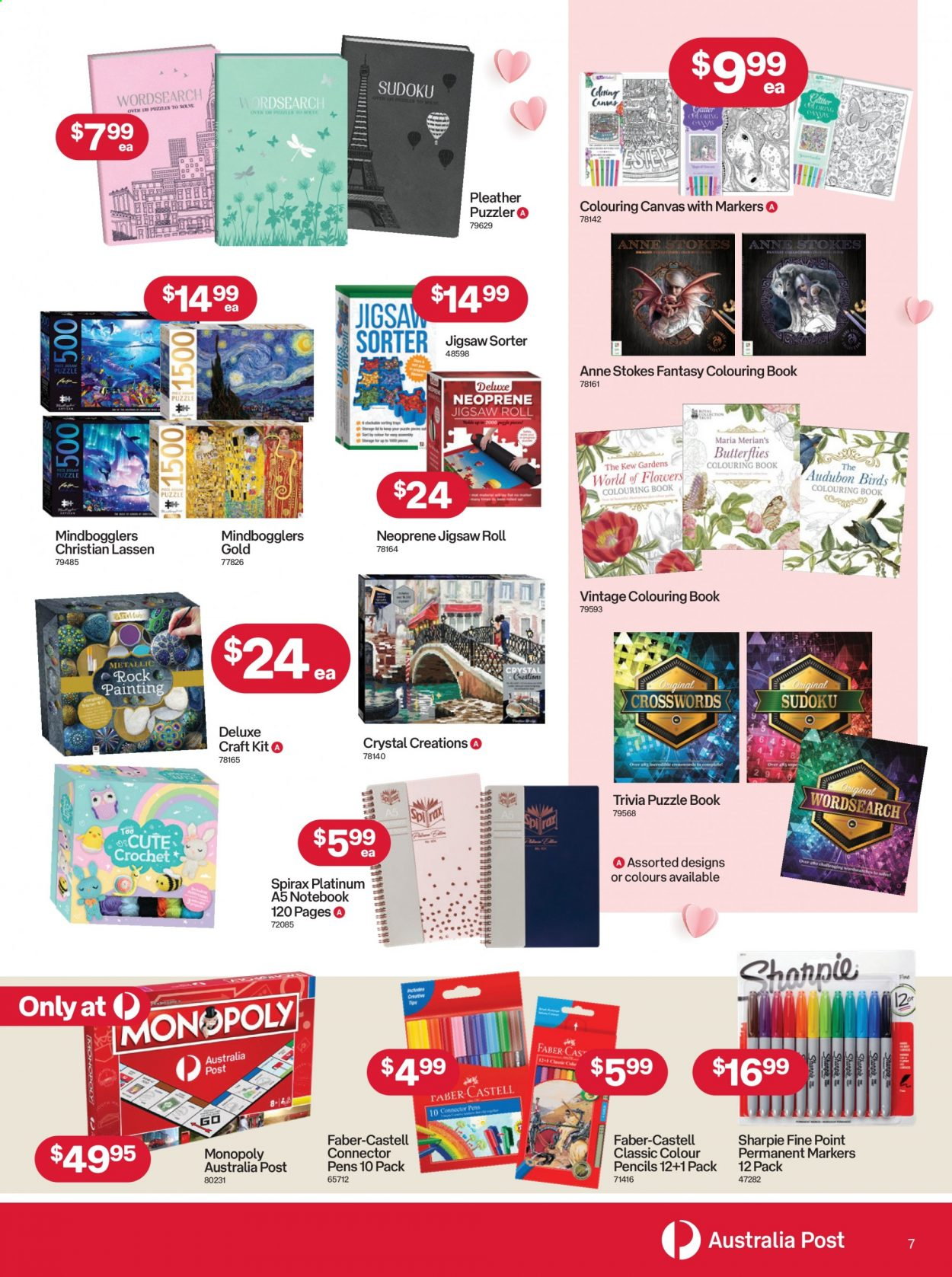 Australia Post catalogue  - 12.4.2021 - 9.5.2021. Page 7.