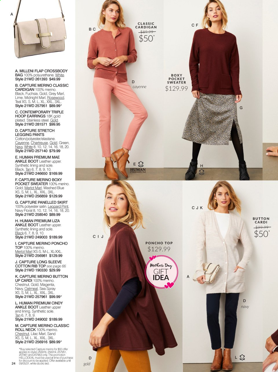 Ezibuy catalogue  - 12.4.2021 - 9.5.2021. Page 24.