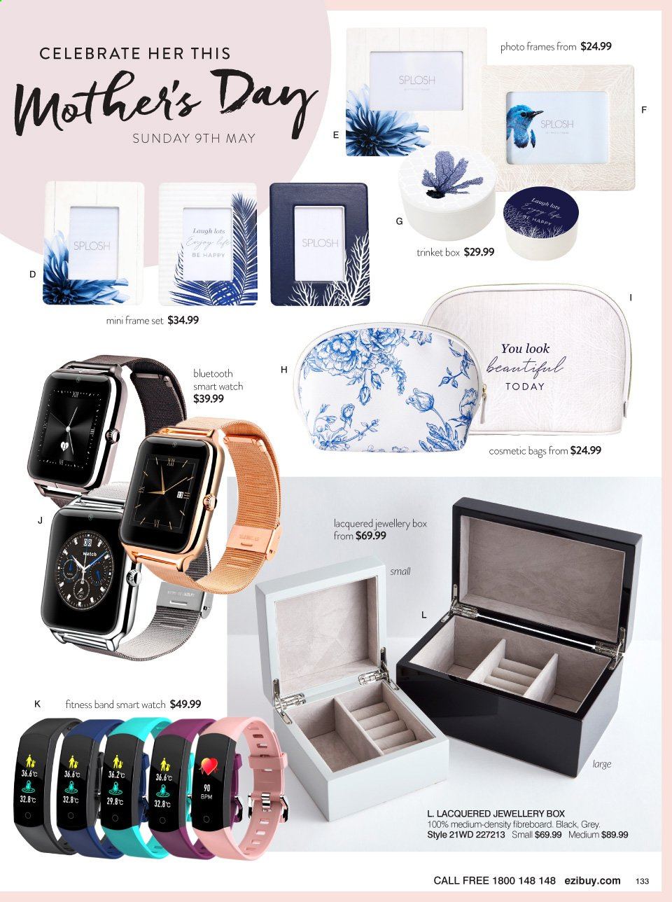 Ezibuy catalogue  - 12.4.2021 - 9.5.2021. Page 133.