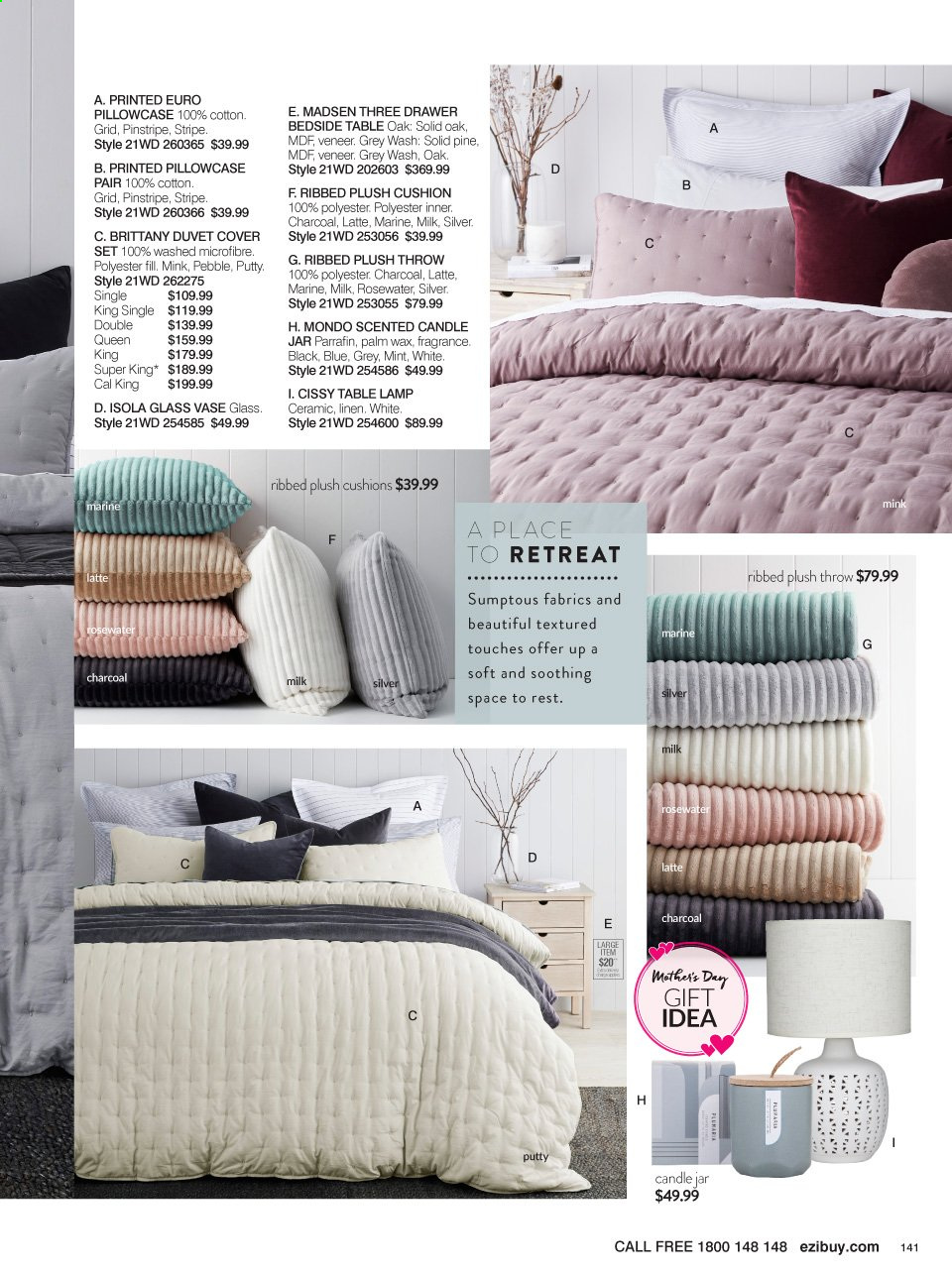 Ezibuy catalogue  - 12.4.2021 - 9.5.2021. Page 141.