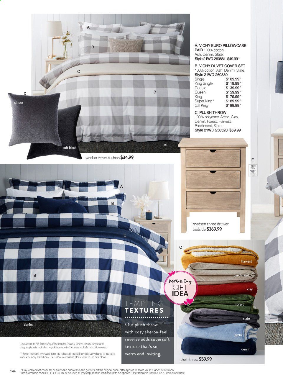 Ezibuy catalogue  - 12.4.2021 - 9.5.2021. Page 144.