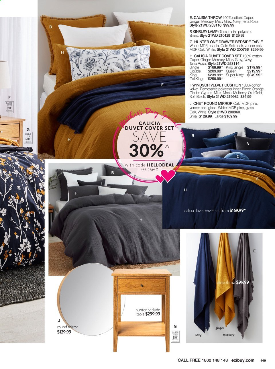 Ezibuy catalogue  - 12.4.2021 - 9.5.2021. Page 149.
