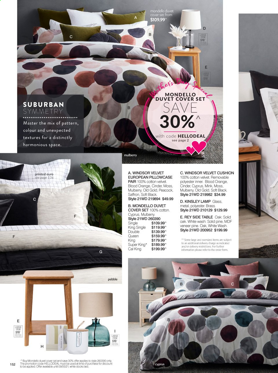 Ezibuy catalogue  - 12.4.2021 - 9.5.2021. Page 152.