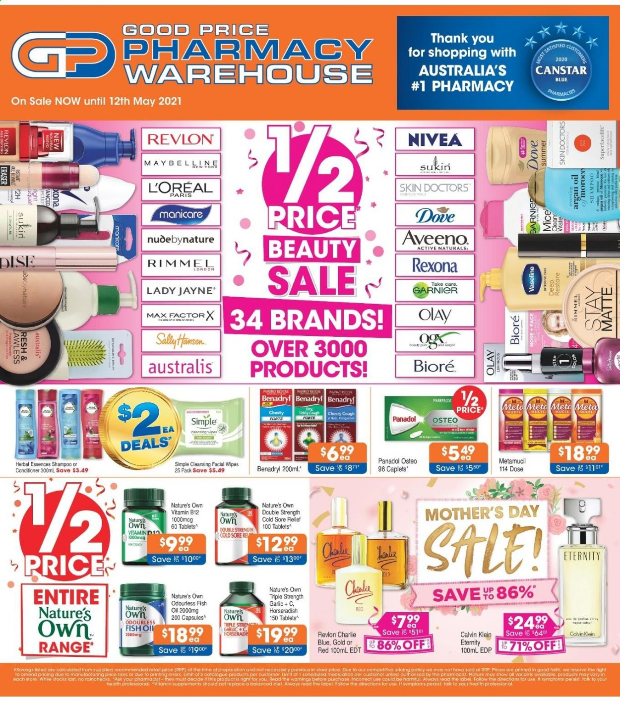 Good Price Pharmacy catalogue  - 15.4.2021 - 12.5.2021. Page 1.