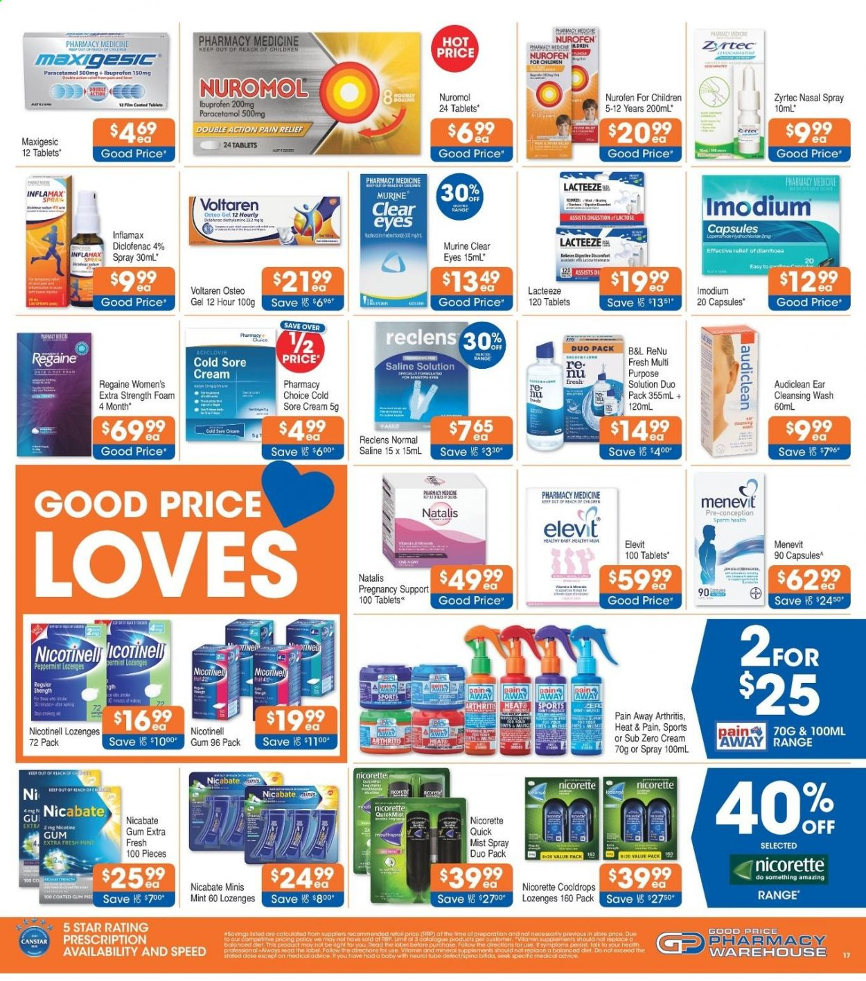 Good Price Pharmacy catalogue  - 15.4.2021 - 12.5.2021. Page 17.