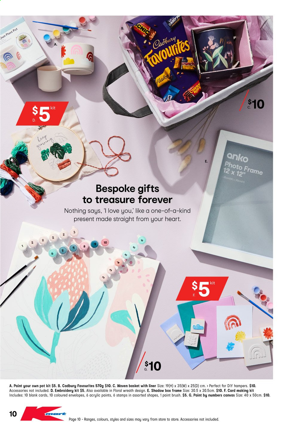 Kmart catalogue  - 22.4.2021 - 9.5.2021. Page 10.