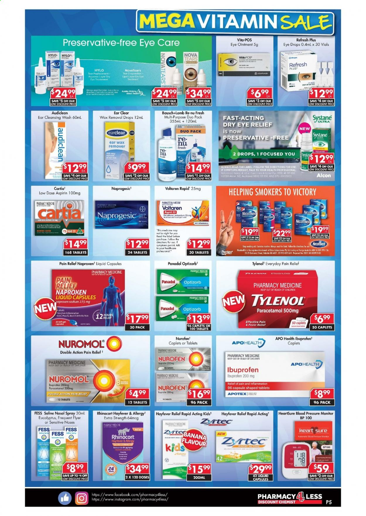 Pharmacy 4 Less catalogue  - 22.4.2021 - 19.5.2021. Page 5.