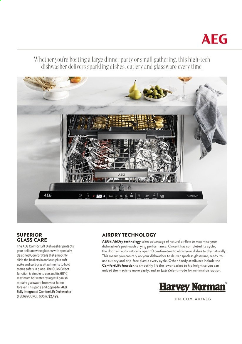 Harvey Norman catalogue  - 26.4.2021 - 30.6.2021. Page 11.