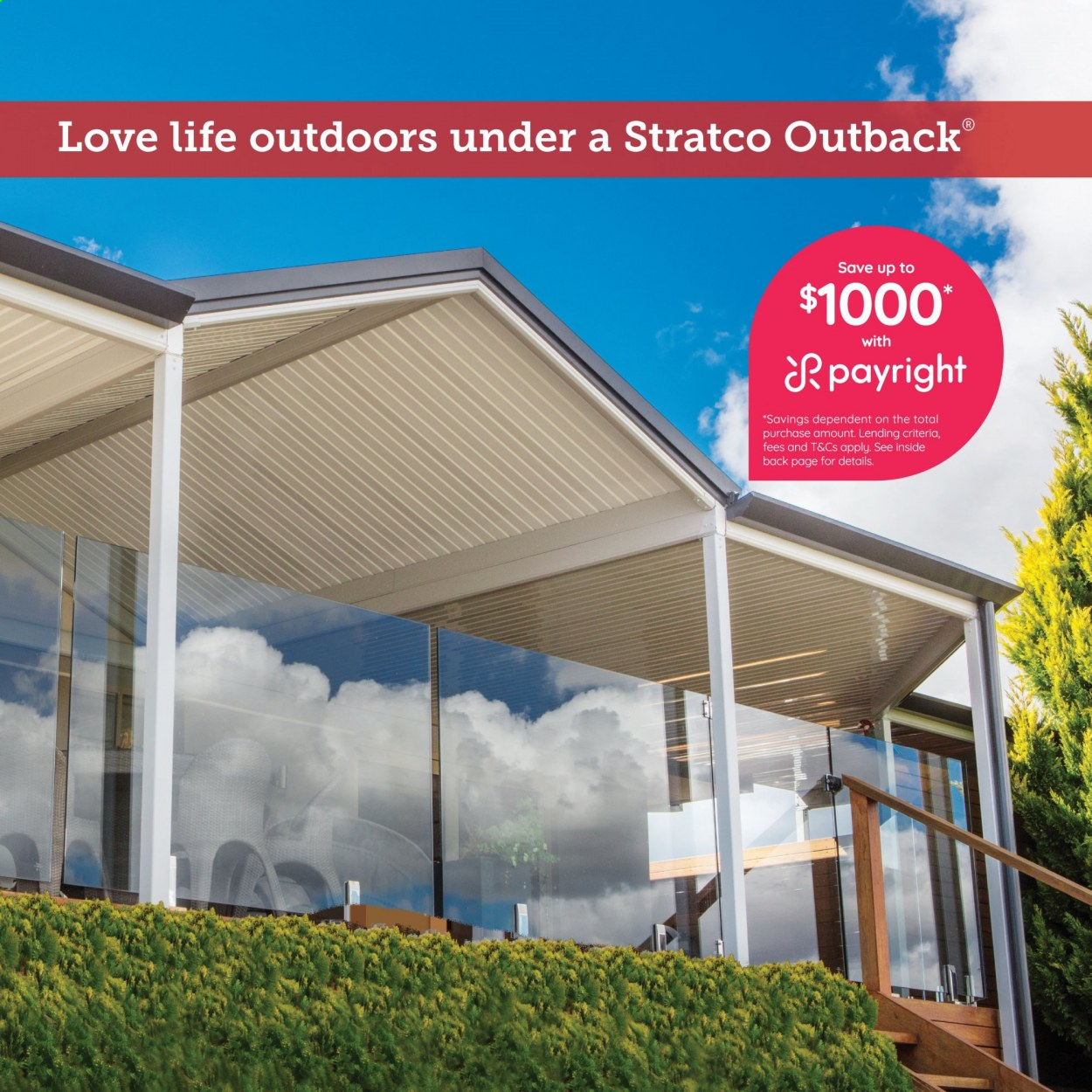 Stratco catalogue  - 30.4.2021 - 30.5.2021. Page 4.