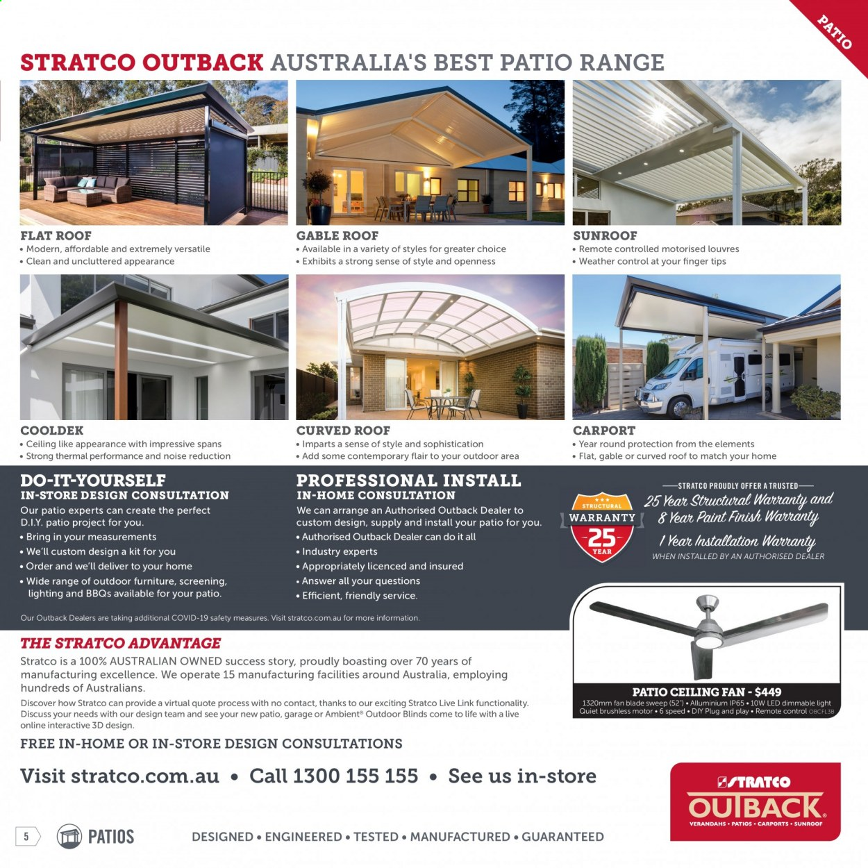 Stratco catalogue  - 30.4.2021 - 30.5.2021. Page 5.