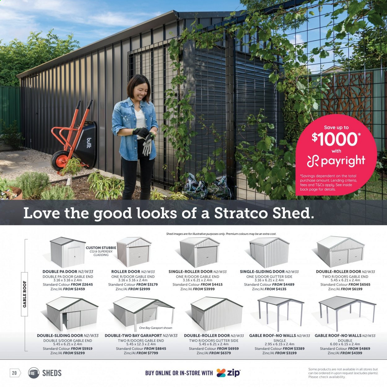 Stratco catalogue  - 30.4.2021 - 30.5.2021. Page 20.