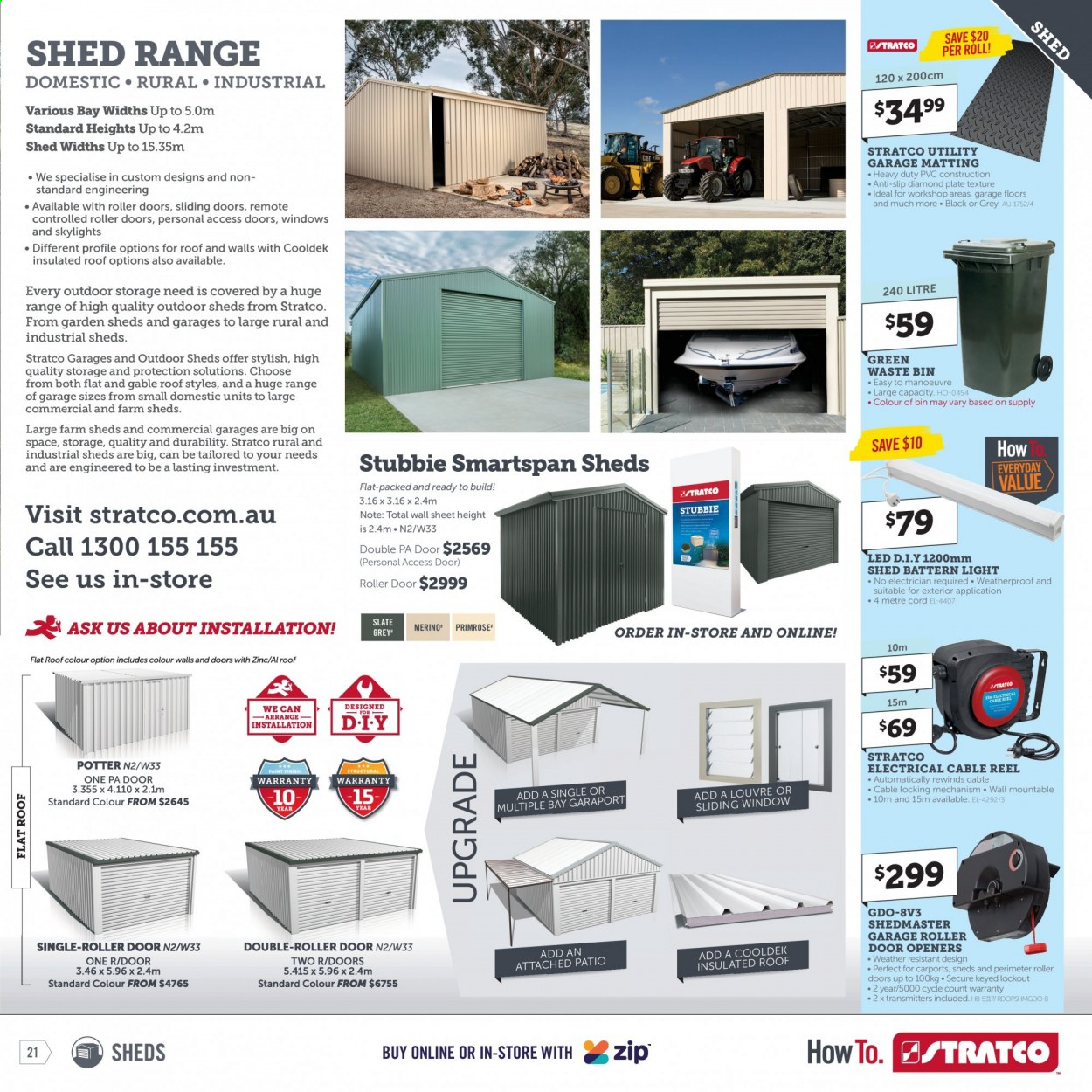 Stratco catalogue  - 30.4.2021 - 30.5.2021. Page 21.
