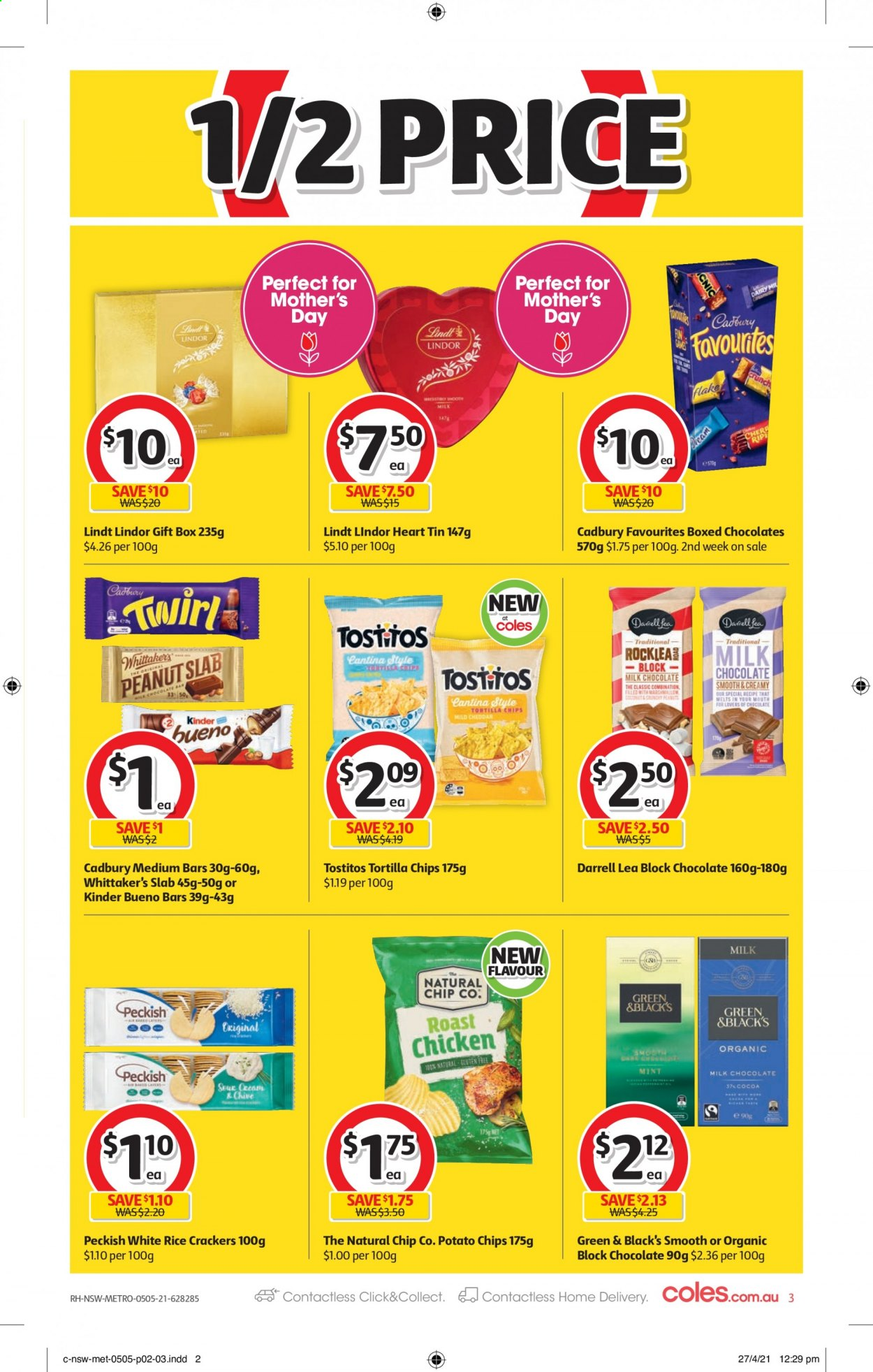 Coles catalogue  - 5.5.2021 - 11.5.2021. Page 3.