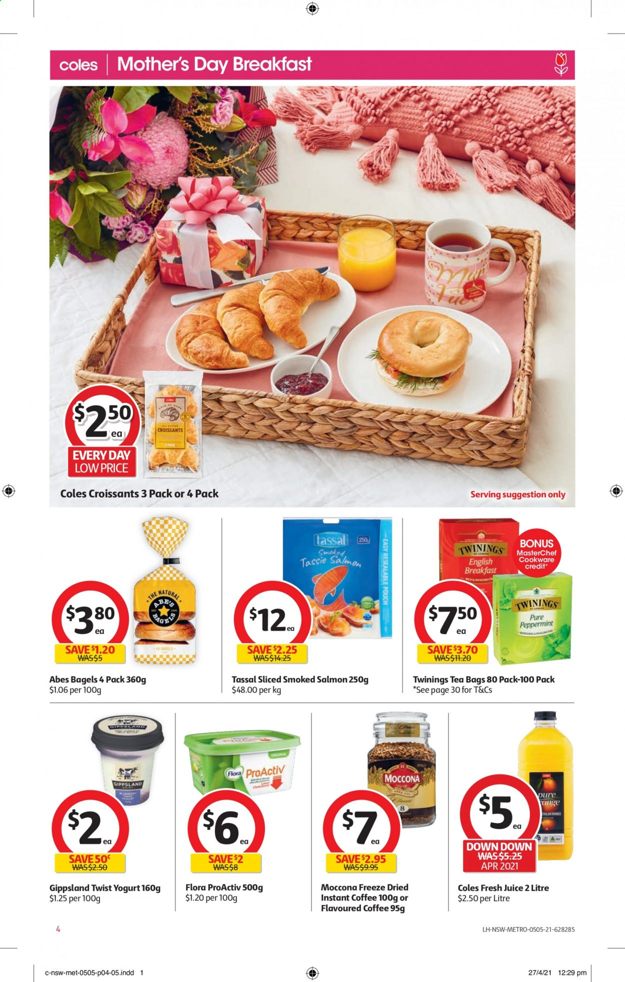 Coles catalogue  - 5.5.2021 - 11.5.2021. Page 4.