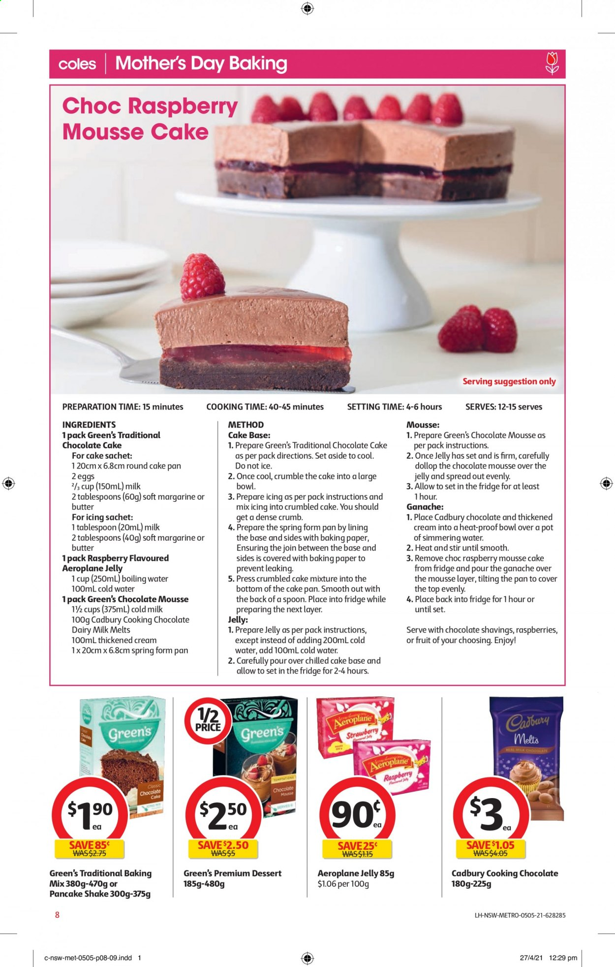 Coles catalogue  - 5.5.2021 - 11.5.2021. Page 8.